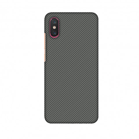Neutral Grey Texture Slim Hard Shell Case For Xiaomi Mi 8 Pro