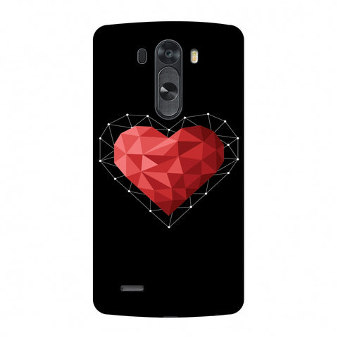 Geometric Heart Slim Hard Shell Case For LG G4