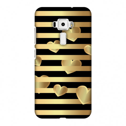 Hearts Between Lines Slim Hard Shell Case For Asus Zenfone 3 ZE520KL