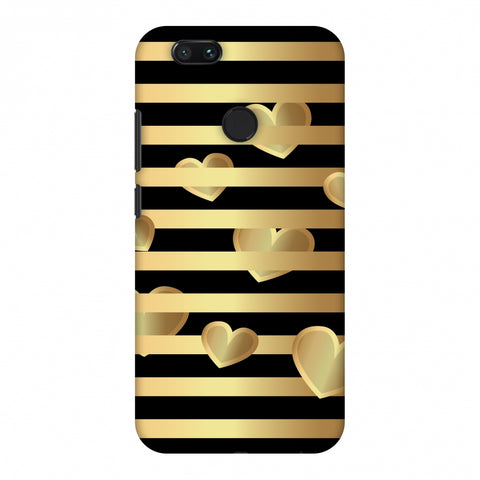 Hearts Between Lines Slim Hard Shell Case For Xiaomi MI A1-5X