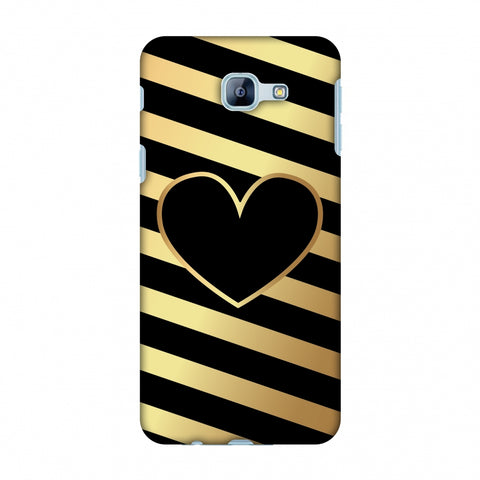 Diagonal Heart Lines Slim Hard Shell Case For Samsung Galaxy A8 2016