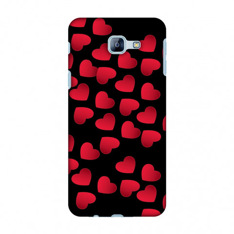 Floating Hearts Slim Hard Shell Case For Samsung Galaxy A8 2016