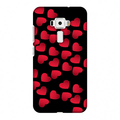 Floating Hearts Slim Hard Shell Case For Asus Zenfone 3 ZE520KL
