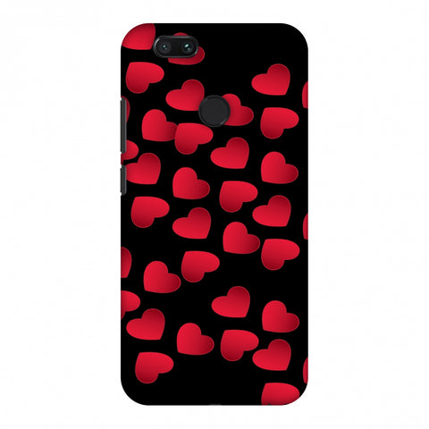 Floating Hearts Slim Hard Shell Case For Xiaomi MI A1-5X