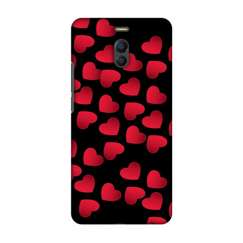 Floating Hearts Slim Hard Shell Case For Meizu Note 6