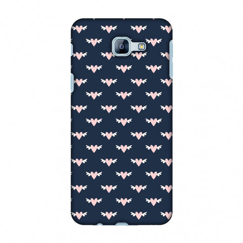 Flying Hearts Pattern Slim Hard Shell Case For Samsung Galaxy A8 2016