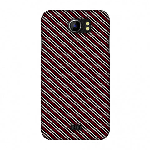 Love Lines Slim Hard Shell Case For Micromax Canvas 2 A110