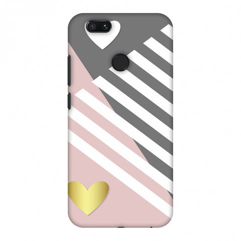 Geometric Shapes & Hearts Slim Hard Shell Case For Xiaomi MI A1-5X