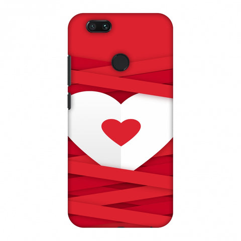 Heart In Ribbons Slim Hard Shell Case For Xiaomi MI A1-5X
