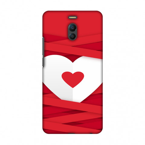 Heart In Ribbons Slim Hard Shell Case For Meizu Note 6