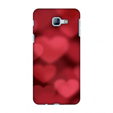 Faded Hearts Slim Hard Shell Case For Samsung Galaxy A8 2016