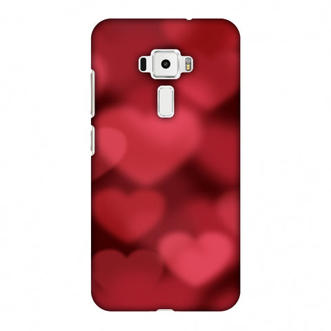 Faded Hearts Slim Hard Shell Case For Asus Zenfone 3 ZE520KL