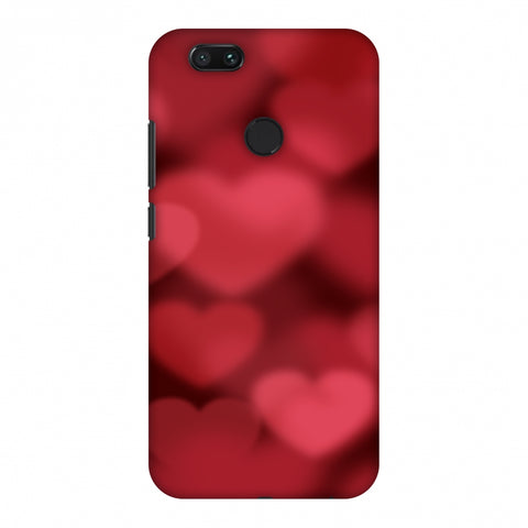 Faded Hearts Slim Hard Shell Case For Xiaomi MI A1-5X