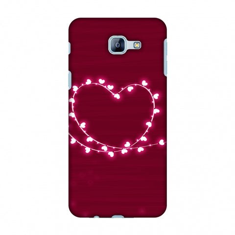 Heart Lights Slim Hard Shell Case For Samsung Galaxy A8 2016
