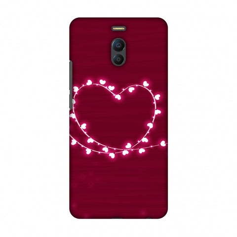 Heart Lights Slim Hard Shell Case For Meizu Note 6