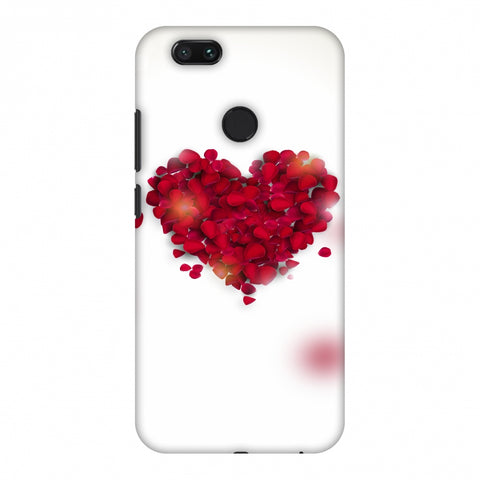 Rose Heart Slim Hard Shell Case For Xiaomi MI A1-5X