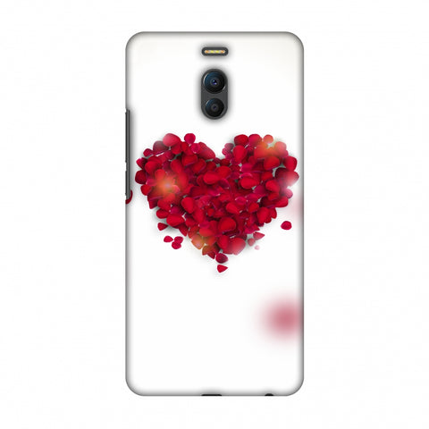Rose Heart Slim Hard Shell Case For Meizu Note 6