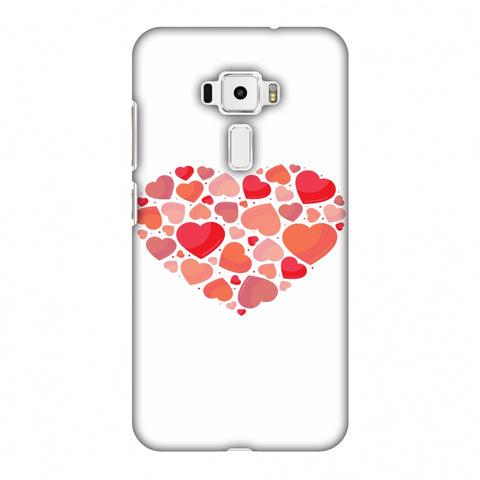 Hearts Within A Heart Slim Hard Shell Case For Asus Zenfone 3 ZE520KL
