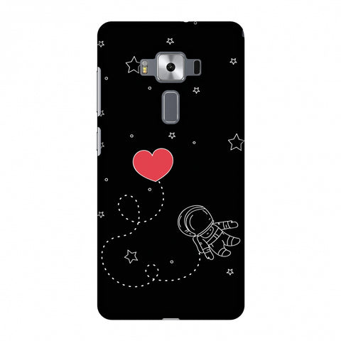 Space Love Slim Hard Shell Case For Asus Zenfone 3 Deluxe ZS570KL