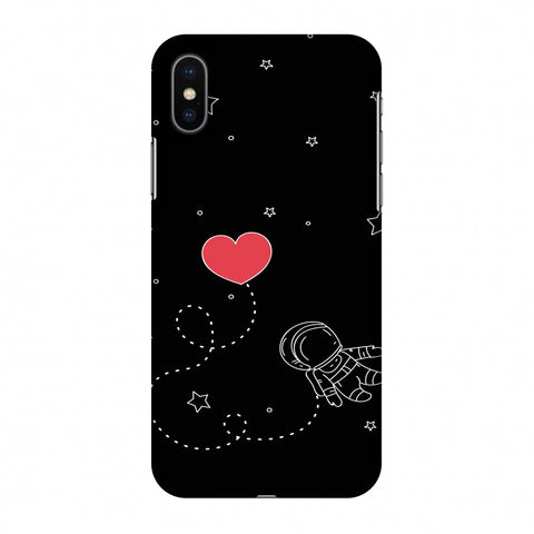 Space Love Slim Hard Shell Case For Apple iPhone X