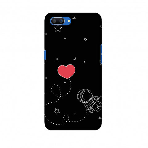 Space Love Slim Hard Shell Case For Oppo Realme C1