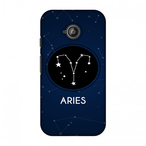 Stars Aries Slim Hard Shell Case For Motorola Moto E 2nd Gen