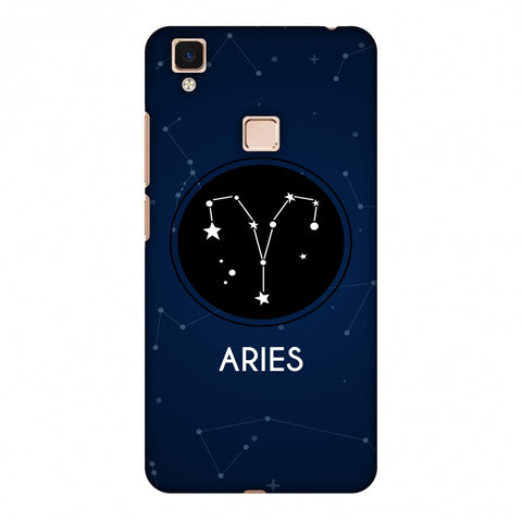 Stars Aries Slim Hard Shell Case For Vivo V3 Max