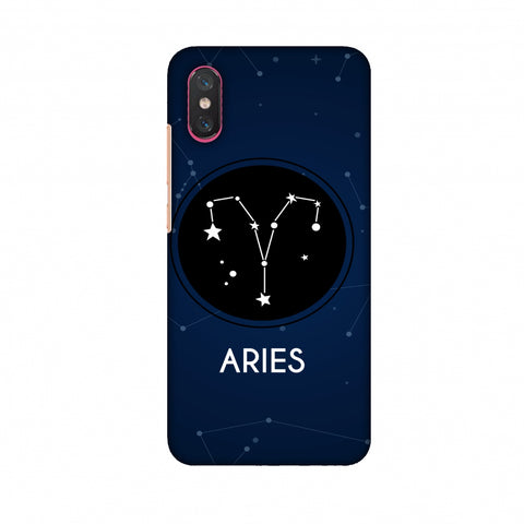 Stars Aries Slim Hard Shell Case For Xiaomi Mi 8 Pro