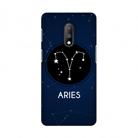 Stars Aries Slim Hard Shell Case For OnePlus 7