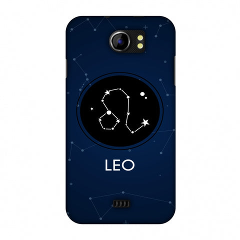 Stars Leo Slim Hard Shell Case For Micromax Canvas 2 A110