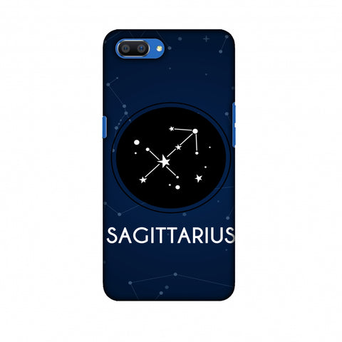 Stars Sagittarius Slim Hard Shell Case For Oppo Realme C1