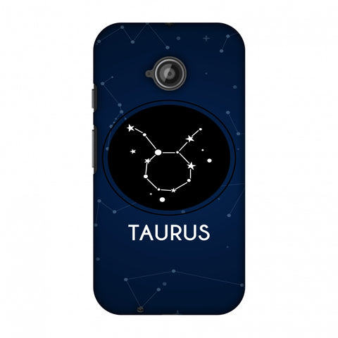 Stars Taurus Slim Hard Shell Case For Motorola Moto E 2nd Gen