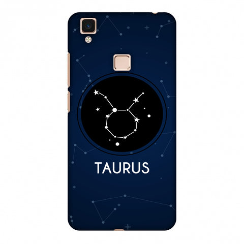 Stars Taurus Slim Hard Shell Case For Vivo V3 Max