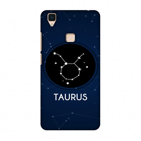 Stars Taurus Slim Hard Shell Case For Vivo V3