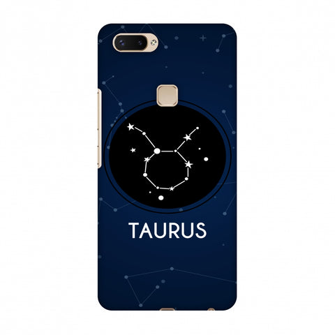 Stars Taurus Slim Hard Shell Case For Vivo X20 Plus