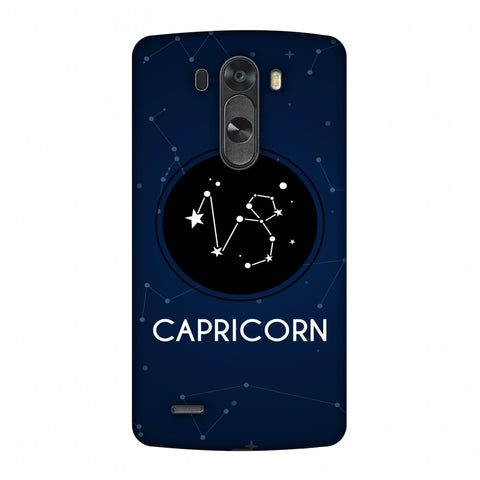 Stars Capricorn Slim Hard Shell Case For LG G4