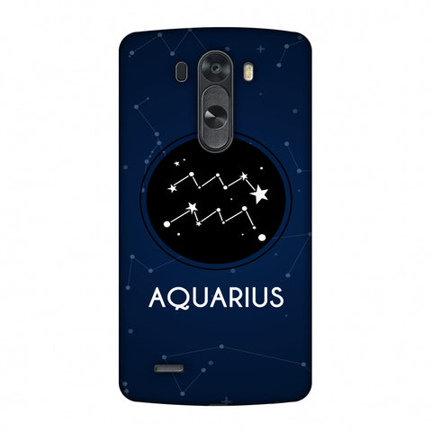 Stars Aquarius Slim Hard Shell Case For LG G4