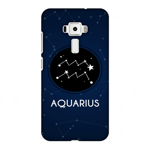Stars Aquarius Slim Hard Shell Case For Asus Zenfone 3 ZE520KL