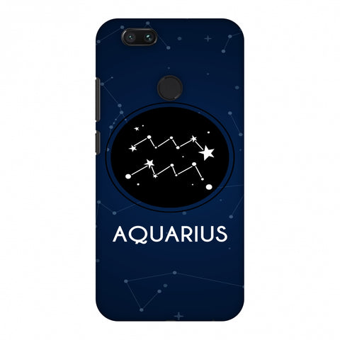 Stars Aquarius Slim Hard Shell Case For Xiaomi MI A1-5X