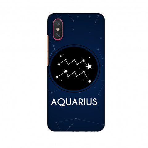Stars Aquarius Slim Hard Shell Case For Xiaomi Mi 8 Pro