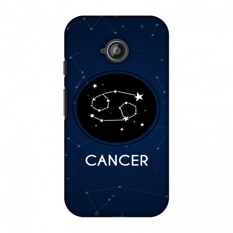 Stars Cancer Slim Hard Shell Case For Motorola Moto E 2nd Gen