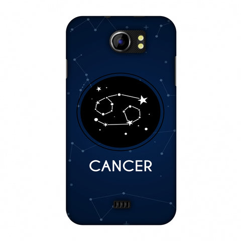 Stars Cancer Slim Hard Shell Case For Micromax Canvas 2 A110