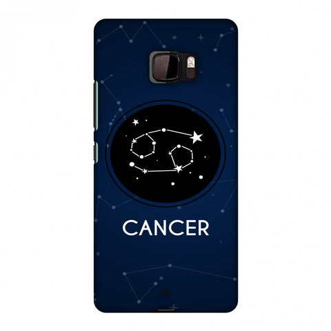 Stars Cancer Slim Hard Shell Case For HTC U Ultra