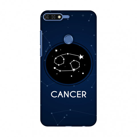 Stars Cancer Slim Hard Shell Case For Huawei Honor 7C