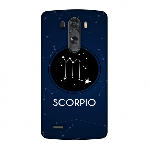 Stars Scorpio Slim Hard Shell Case For LG G4