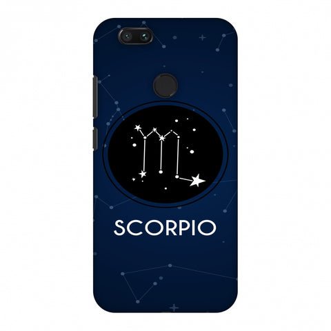 Stars Scorpio Slim Hard Shell Case For Xiaomi MI A1-5X