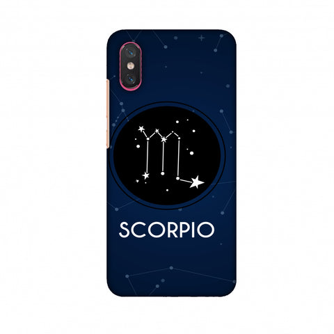 Stars Scorpio Slim Hard Shell Case For Xiaomi Mi 8 Pro