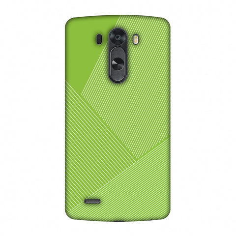 Carbon Fibre Redux Pear Green 1 Slim Hard Shell Case For LG G4
