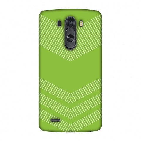 Carbon Fibre Redux Pear Green 2 Slim Hard Shell Case For LG G4