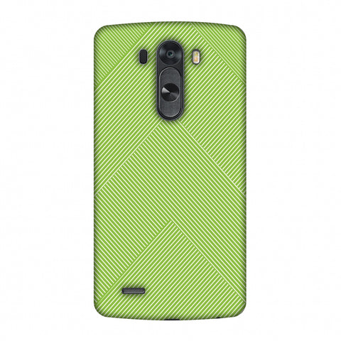 Carbon Fibre Redux Pear Green 4 Slim Hard Shell Case For LG G4